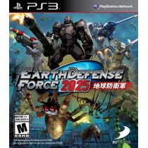 Earth Defense Force 2025 - Nuevo Sellado - Ps3