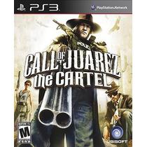 Call Of Juarez The Cartel Para Ps3 Nuevo Y Sellado Pm0 Vv4