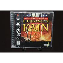 Blood Omen Legacy Of Kain Playstation 1. Excelente Condicion