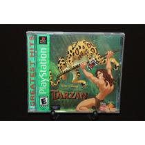 Tarzan Para Playstation 1 Excelente Condicion Walt Disney