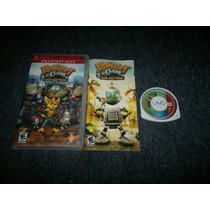 Ratchet And Clank Size Matters Completo Para Psp
