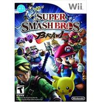 Super Smash Bros Brawl Wii Usado Blakhelmet
