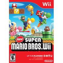 New Super Mario Bros Wii Usado Blakhelmet