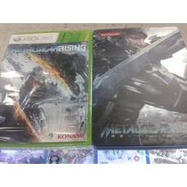 Metal Gear Rising Con Caja Metalica Xbox360