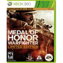 Medal Of Honor Warfighter Limited Edition Xbox 360 Nuevo Hm4