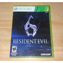 Resident Evil 6 Xbox 360 Excelente Condiciones