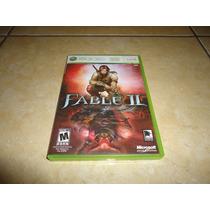 Fable Ii 2 Xbox 360 Completo +++