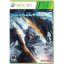 ..:: Metal Gear Rising ::.. Para Xbox 360 En Start Games
