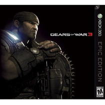 Gears Of War 3 Epic Edicion Nuevo Sellado Original Blakhelme