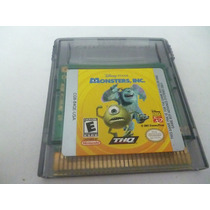 Gameboy. Monster Inc.