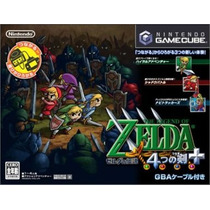 The Legend Of Zelda Four Swords Gamecube Japonesa