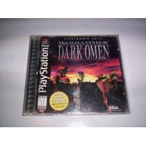 Warhammer Dark Omen Playstation De Games Workshop + Completo