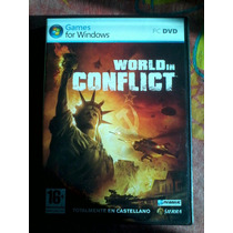 Worl In Conflict Pc Dvd Nuevo