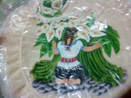 Juegos De Baño Pintados A Mano Mdn - $ 200.00 en MercadoLibre