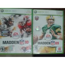 Pack De Videojuegos Xbox 360 Excelente Estado Madden