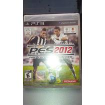 Pes2012 De Playstation 3 (nuevo) $ 349.99 Mn.