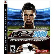 Pes 2008 Pro Evolution Soccer 2008 Futbol Ps3