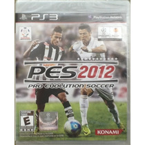 Pro Evolution Soccer Pes 2012 Para Ps3