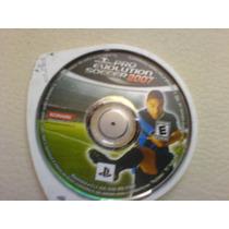 Pro Evolution Soccer 2007 Umd De Psp