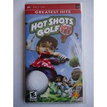 Hot Shots Golf Open Tee Para Psp Completo Excelente Edo Golf