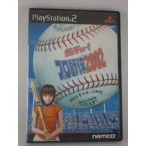 Netsu Chu! Pro Baseball 2002 - Videojuego Ps2 - Japones