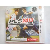 Juego Pes 2013 Pro Evolution Soccer 3d Nintendo 3ds! Nuevo