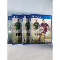 Fifa 2015 Ps4, Fifa15 Completa Mente Nuevo Sellado Original.