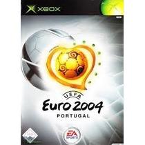 Uefa Euro 2004 Xbox Con Portada Y Manual