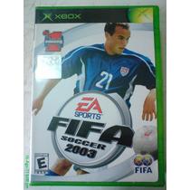 Fifa Soccer 2003 Xbox Y Xbox 360! Envió Gratis! Hm4