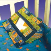 Cuña Con Espejo Estimulación Temprana Marca Kids Colors