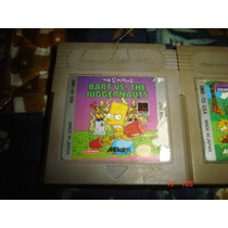 Game Boy The Simpsons Escape From Camp Deadly,vs The Juggern