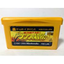 The Legend Of Zelda 2 Link No Bouken Famicom Disk Mini Gba