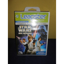 Cartucho Leapster Star Wars Jedi Reading Leap Frog