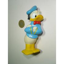 Antiguo Muñeco Figura De Pato Donald En Vinil