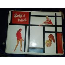 Antiguo Estuche De Barbie De Los 60