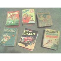 Mini Libro Comics De Donald Y Varios Mas Año 1944