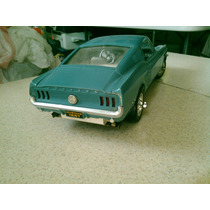 Mustang Shelby 1967 Juguete Carrito Antiguo