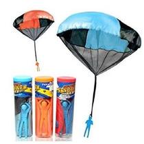 3 Piezas Set-enreda Libremente Juguete Paracaidista Paracaid
