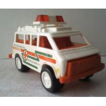 Ambulancia Cruz Roja Mexicana - Camioncito De Juguete Escala