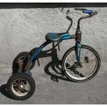 Antiguo Triciclo Listo Para Tu Colección