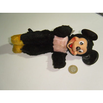 Antigua Figura De Mickey Mouse Gund Rubber 50