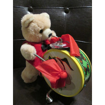 Antiguo Oso De Lamina Teddy Bear 60s