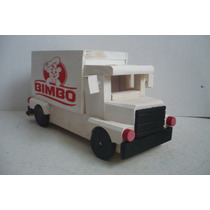 Camion Reparto Bimbo - Camioncito De Madera - Camion Escala