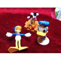 Set De Figuritas Vintage Donald Y Sylvestre