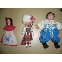 Muñecos Con Trajes Típicos Europeos