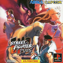 Street Fighter Ex2 Plus Ps1 Japonesa