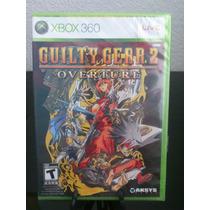 Guilty Gear Overture Xbox 360 Nuevo De Fabrica Citygame