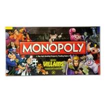 Disney Monopoly Juego Villanos Edición