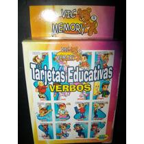 Gcg Tarjetas Educativas De Verbos Ingles Y Español Op4