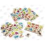 Juego Memoria Y Lotería Abc 2 En 1 Madera 64 Piezas 5+ Diako